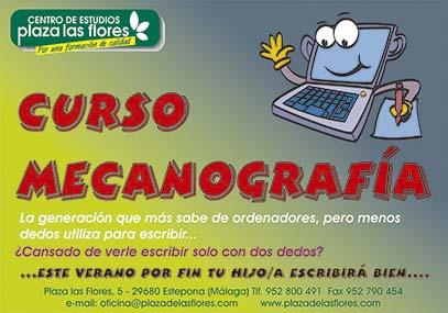 Curso de Mecanografia Verano 2013