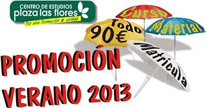 promocion Cursos Verano 2013